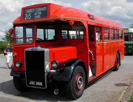 1949 Leyland Tiger PS1 Mann Egerton London Transport TD95