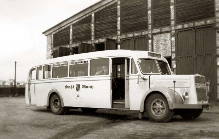 1949 MAN-Kässbohrer-Omnibus 43