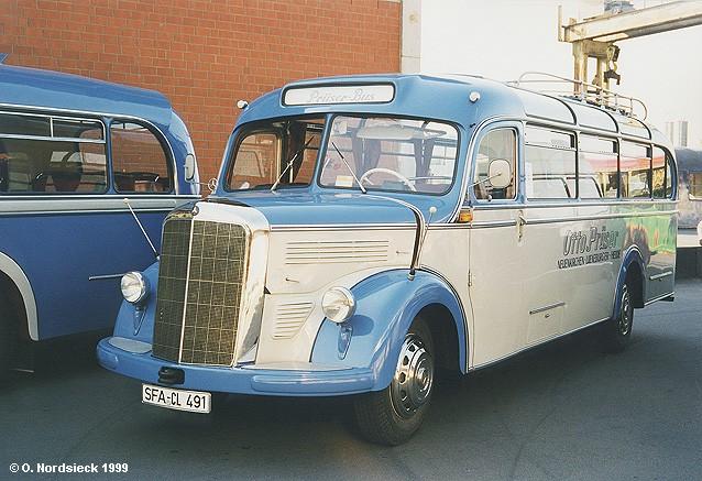 1949 Mercedes Benz O 3500 Überland-Reisebus