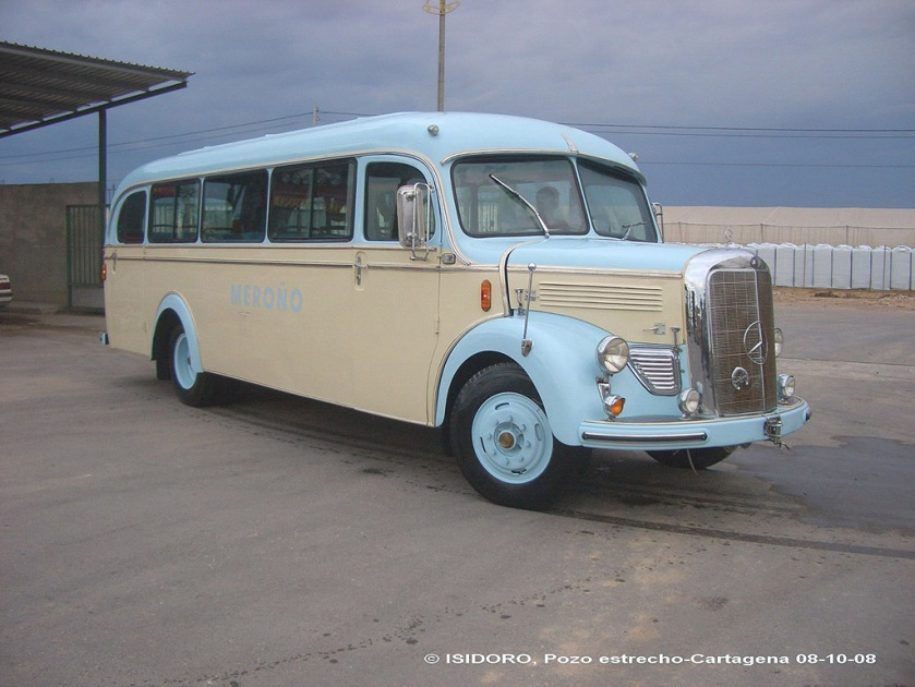 1949 Mercedes Benz O3500a Spanje