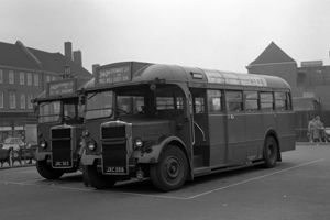 1949 TD95 one of a batch of 100 Leyland PS1-Mann Egerton