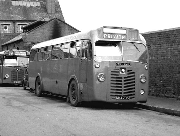 1950 B.M.M.O. S12 with a Metro-Cammell B44F body
