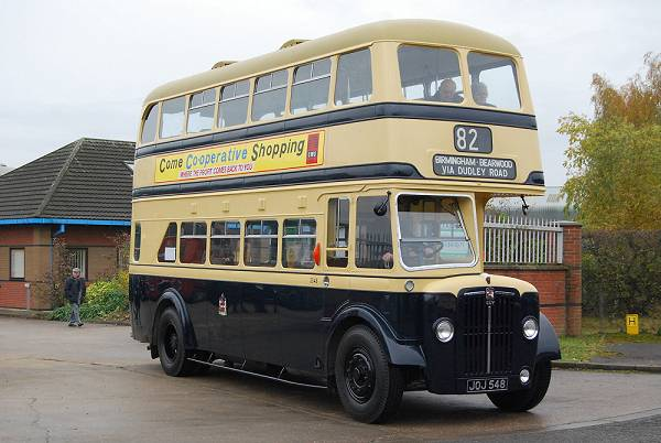 1950 Guy Arab IV with a Metro Cammell body