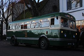 1950 Leyland Olympic that was delivered to King Alfred Motor Services in Winchester 1950