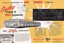 1950 Mack Mfg Corp 37-Passenger Bus Ad