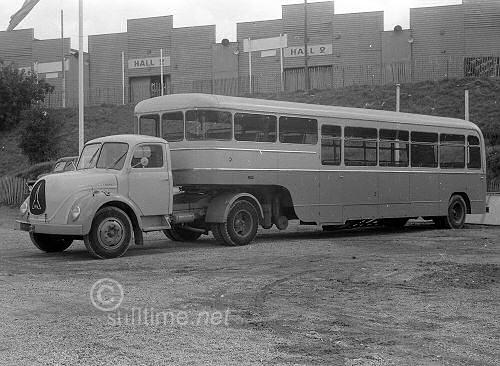 1950 Magirus Deuts Bus Truck