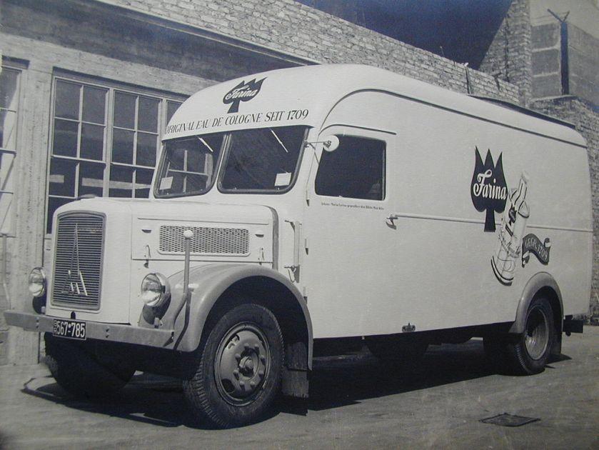 1950 Magirus Deutz KastenwagenTyp S 3500