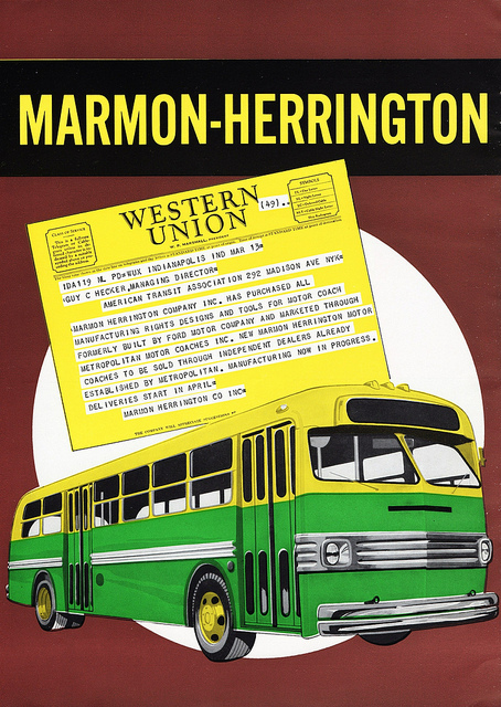 1950 Marmon-Herrington Motor Coach