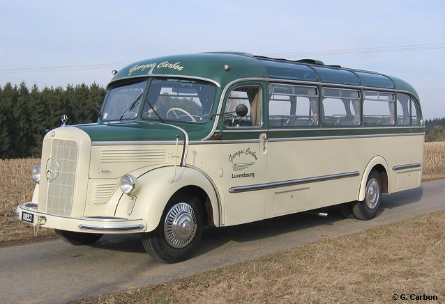 1950 Mercedes Benz O 3500 Reisebus lux