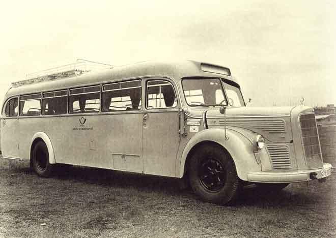 1950 Mercedes-Benz O6600