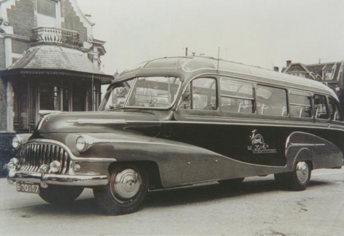 1950 W. de Jong, St. Annaparochie Ford F5 Medema, Appingedam B-30957