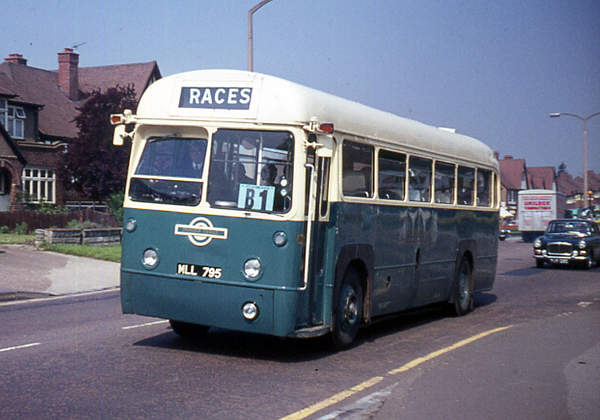 1951 A.E.C. 9821LT Regal IV with a Metro-Cammell B39F body