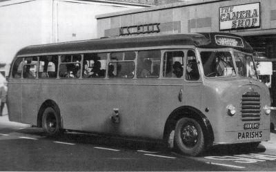 1951 Bedford SB-Mulliner bus, reg no HAW 845