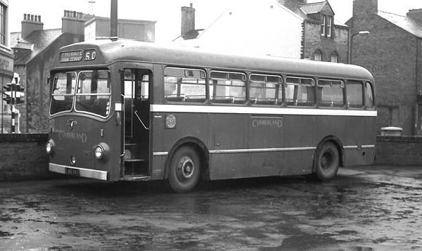 1951 Cumberland 153, LAO147, an Eastern Coachworks B45F bodied Leyland PSU1-13 Royal Tiger