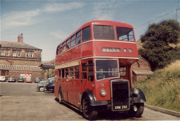1951 Cumberland 370, KRM252, a Leyland PD2-12 with Leyland L27-28R body