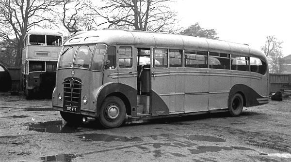 1951 Foden PVSC6 with rare Massey FC37F bodywork