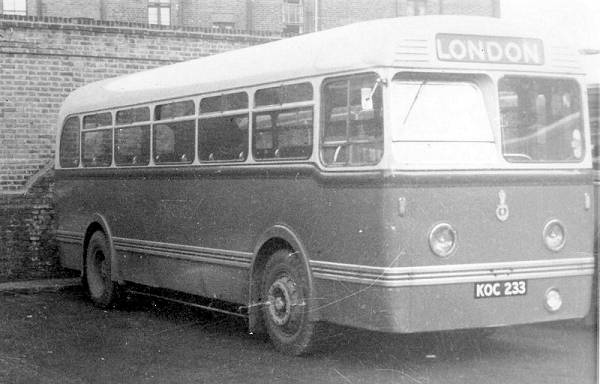 1951 King Alfred's Leyland MCCW Olympic