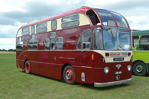 1951 Leyland Royal Tiger half deck bus body built by Mann Egerton