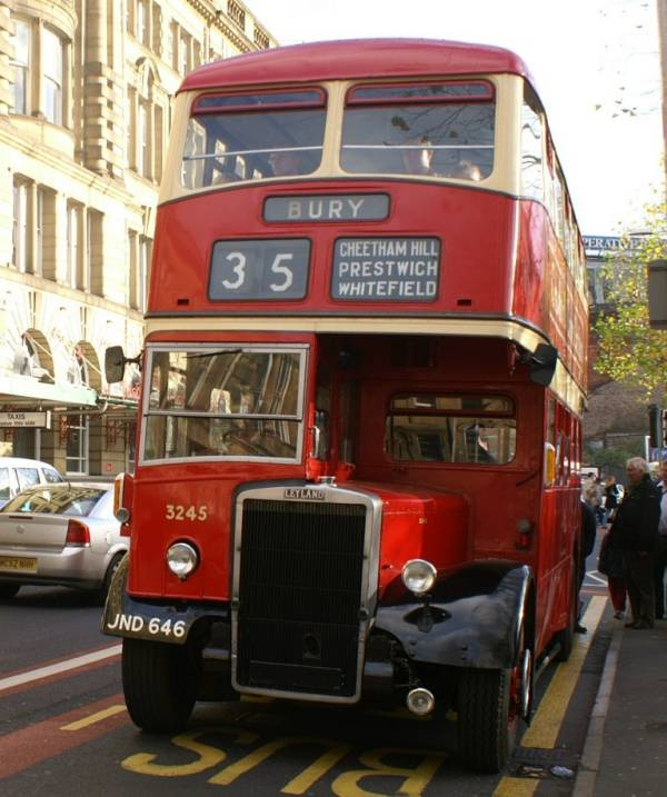 1951 Leyland Titan PD2-3 with MCW bodywork.