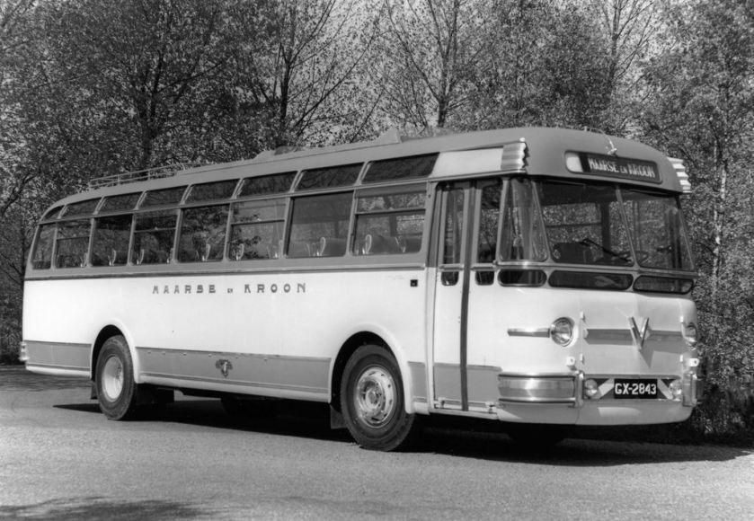 1951 Maarse en  Kroon bus 143 Verheul Leyland Tiger
