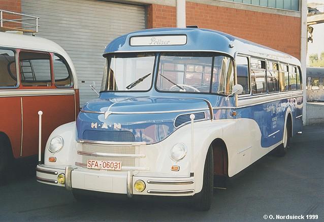 1951 MAN MKN Überlandbus Aufbau Hubertia