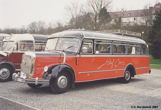 1951 Mercedes Benz O 3500 Reisebus Sta