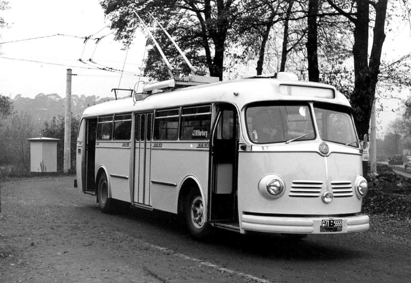 1951 Mercedes Benz O 6600 H