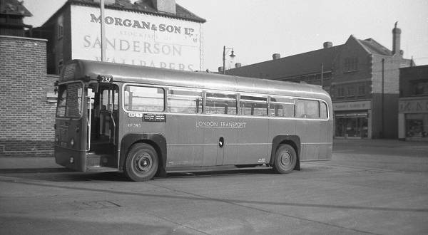 1952 A.E.C. 9821LT Regal IV with a Metro-Cammell B39F body