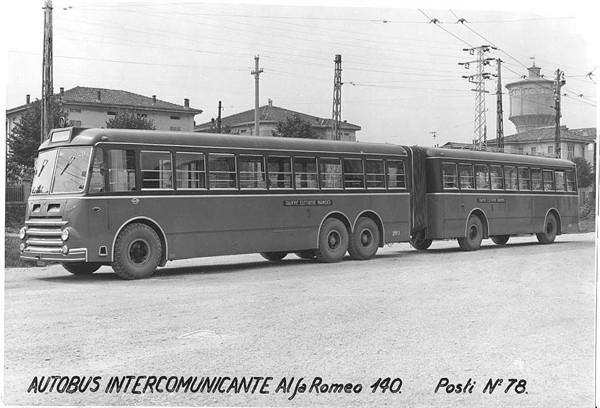 1952 Alfa Romeo 140 Autobus Intercomunicante Posti nr.78