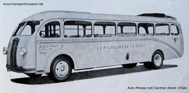 1952 Auto Miesse Gardner 1952 België