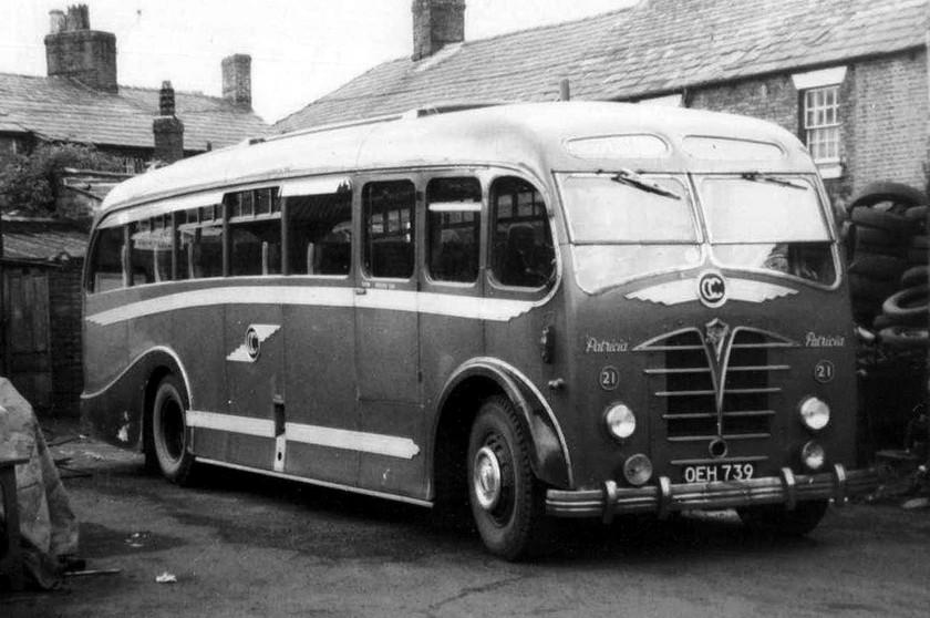 1952 Foden Cheshire Metalcraft
