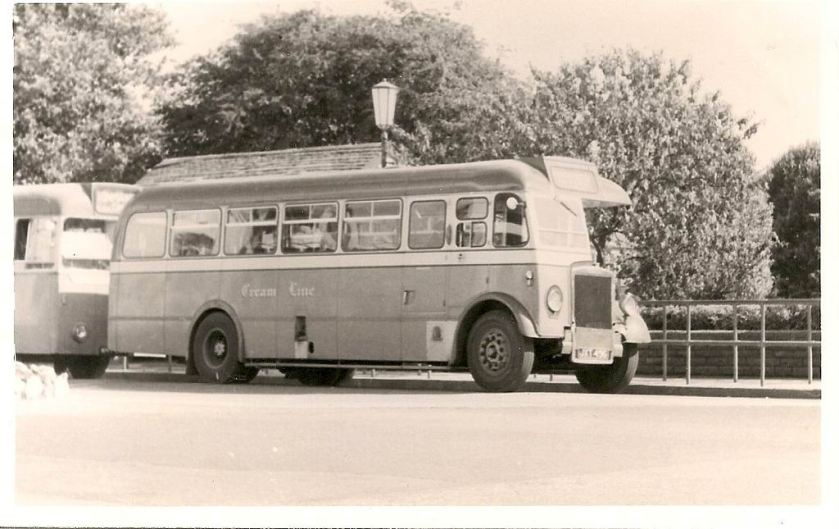 1952 Leyland Massey B39F Feb 1959. ECW body
