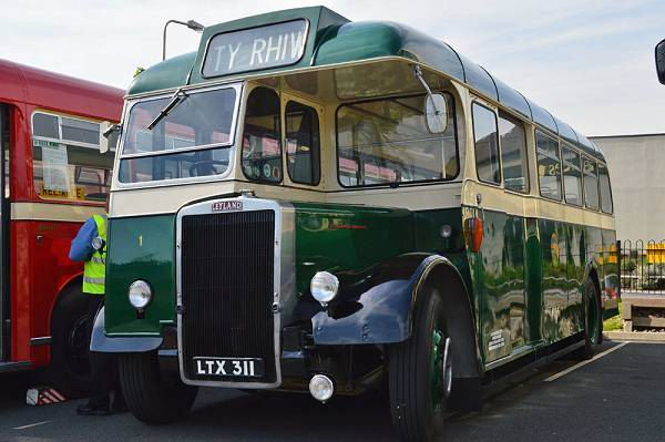 1952 Leyland Tiger PS-2 LTX311+Massey body was fleet No 1 in the Caerphilly UDC fleet