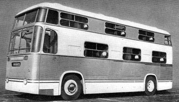 1952 Mann-Egerton bodied one-and-a-half-decker of 1952