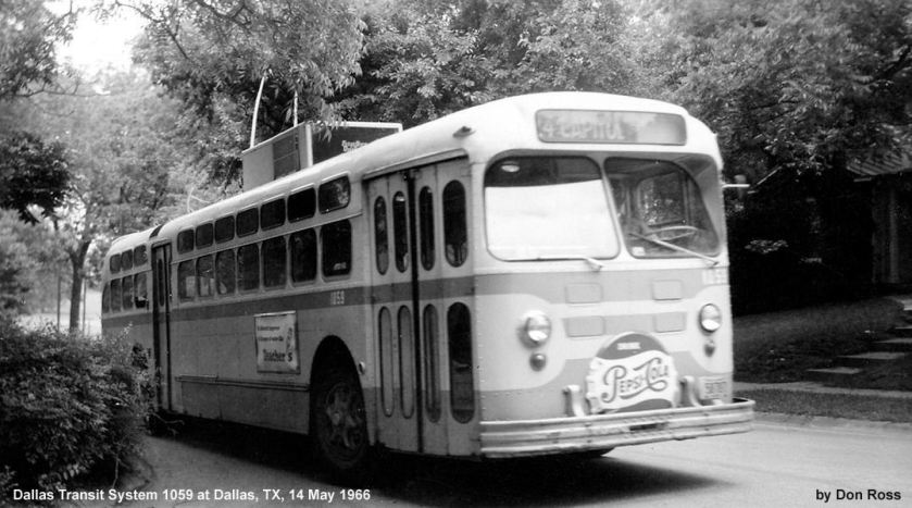 1952 Marmon-Herrington in 1952 as DTS 1060