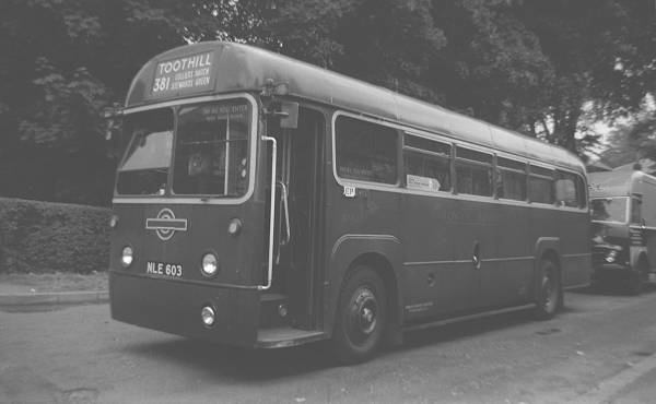 1953 A.E.C. 9821LT Regal IV with a Metro-Cammell B39F body