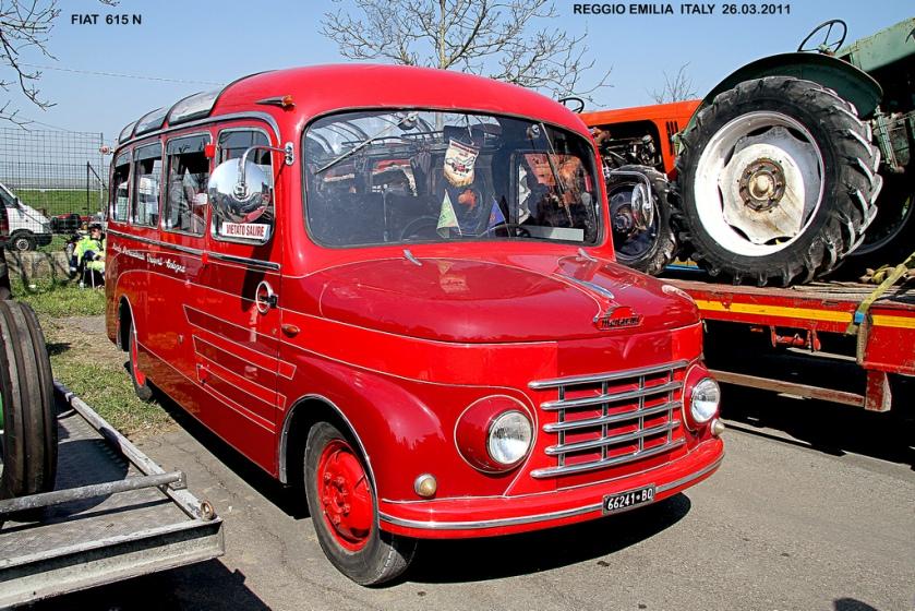 1953 FIAT 615 N - Menarini