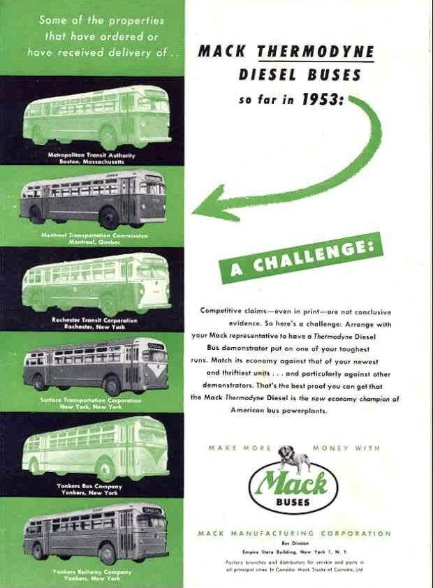 1953 MACK YONKERS