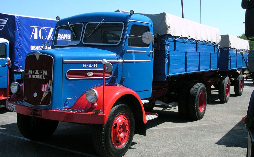 1953 MAN 620