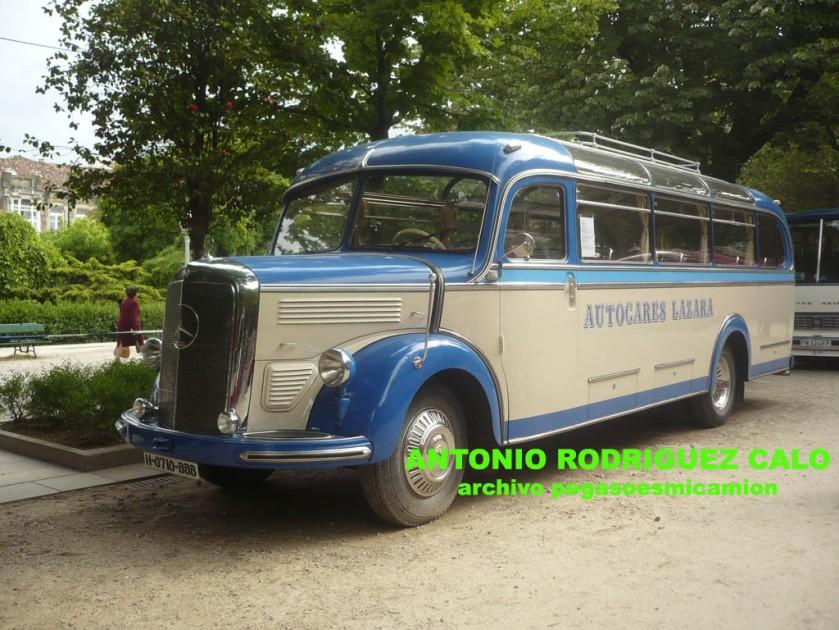 1953 Mercedes Benz O-3500 Motor OM-312 Autocares Lazara a
