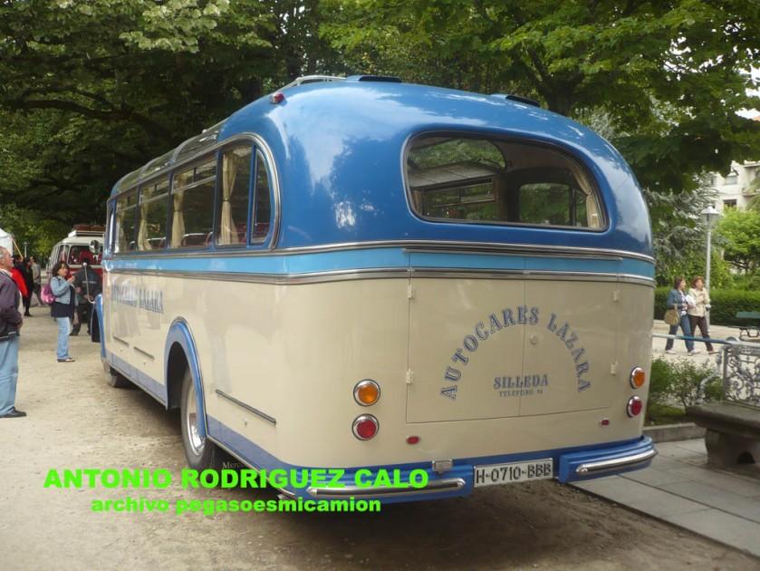 1953 Mercedes Benz O-3500 Motor OM-312 Autocares Lazara b