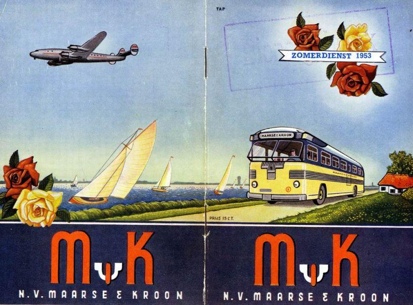 1953 MK Dienstregeling 1953