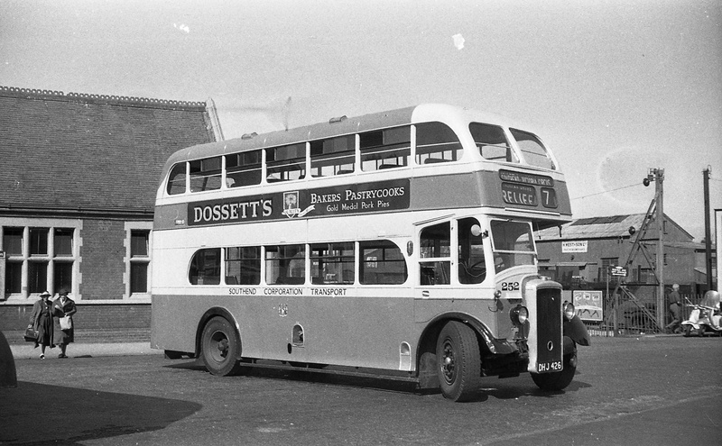 1954 AEC with Massy rebody  SOUTHEND01