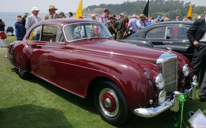 1954 Bentley R-Type Continental HJ Mulliner Sports Saloon