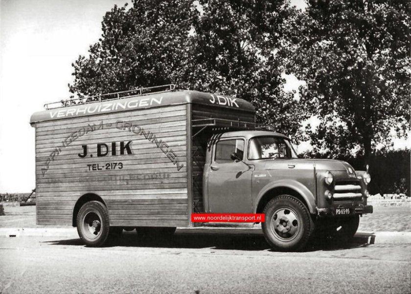 1954 De Soto J Dik uit Appingedam carr. Medema Appingedam