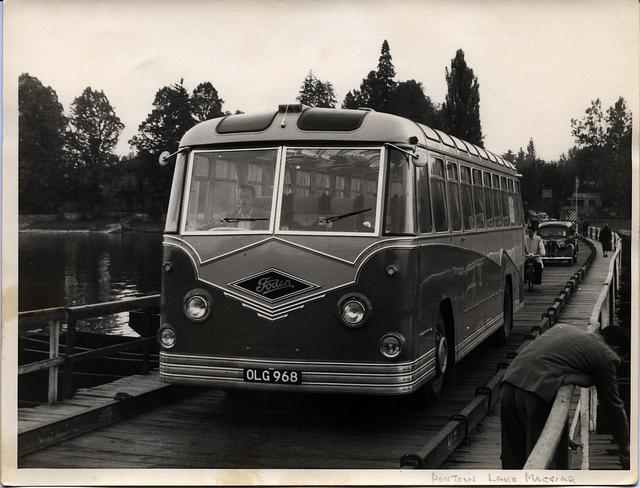 1954 Foden Metalcraft Alpine