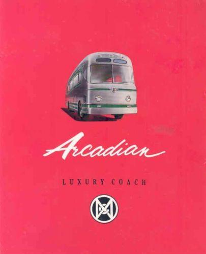 1954 Leyland MCW Arcadian Worldmaster Bus Brochure wk8694-9E49QB