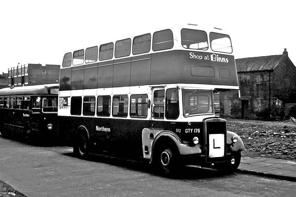 1954 Leyland PD2-12 with an MCW body
