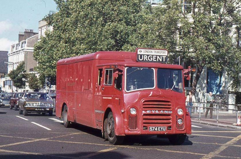 1954 Leyland PD3A  1 - Mann Egerton Lorry