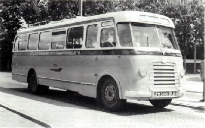 1954 Magirus Deutz O 3500-53A KHD F4L154 90pk carr Verheul GTW111